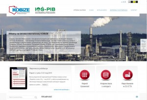 Nowy wygląd strony www.KOBiZE.pl