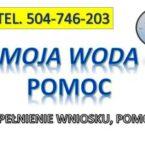 Oczko plus, tel. 504-746-203. Program Moja woda, dofinansowanie.